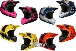2018 Fox Racing V2 MASTAR Helmet Motocross ATV Dirt Bike MTB 19529