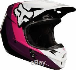 2018 Fox Racing Youth V1 Halyn Helmet MX Motocross Dirt Bike Off-Road ATV