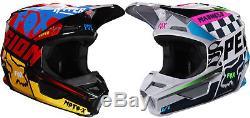 2019 Fox Racing V1 CZAR Helmet MX Motocross Dirt Bike Off-Road ATV Adult MTB
