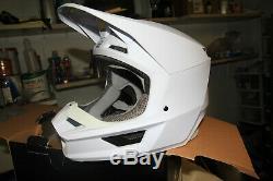 2019 Fox Racing V1 Matte Adult Helmet with MVRS Motocross Dirt Bike ATV MX MTB