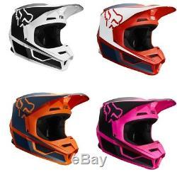 2019 Fox Racing V1 PRZM Helmet MX Motocross Dirt Bike Off-Road ATV Adult MTB
