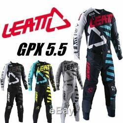 2019 LEATT GPX 5.5 Motocross Gear Set 4 Colors MX Moto Kits ATV Dirt Bike leatt