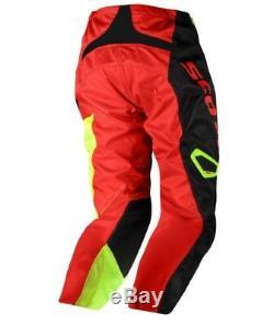 2019 SCOTT Motocross Enduro ATV 350 DIRT PANT Black/Red