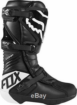 2020 Fox Racing Comp Motocross Boots Black White Mens Off-road Dirt Bike MX ATV