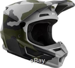 2020 Fox Racing V1 Camo Adult Riding Helmet Motocross Mx Dirt Bike Off Road Atv
