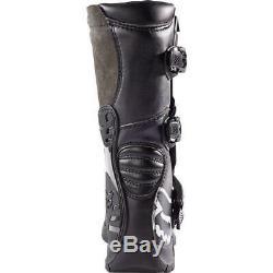 2020 Fox Racing Youth Comp 3 Motocross Boots Black All Sizes MX ATV Dirt Bike