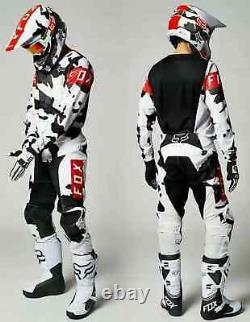 2021Delicate Fox Dirt Bike Motocross Gear Set Motorbike Racing Enduro ATV MX MBT