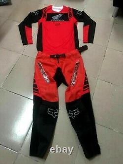 2021 Fox Flexair Honda Motocross Kit Combo Dirt Bike Motocross Gear Set MX ATV X