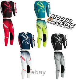 2021 Moose Racing Dirt Bike Gear Agroid Motocross Pant OR Jersey MX Off Road Atv