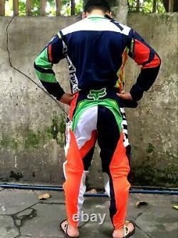 2021 fox jersey 360 divizion Motocross Jersey & Pant Dirt Bike Off-Road MTB ATV