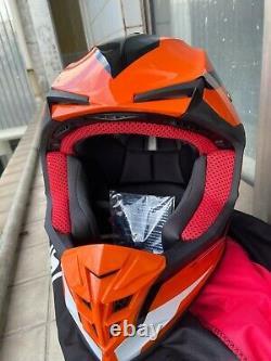 Adult ATV Motocross Dirt Bike Motorcycle Full Face DOT&ECE MX Off-Road Helmet