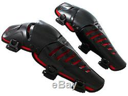 Adult Knee Shin Guards Protector Brace ATV Motocross MX Dirt Bike Off-Road Race