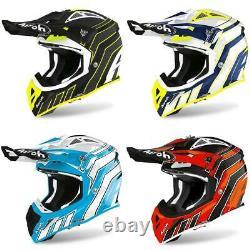 Airoh Aviator Ace Art Motocross Helmet Off Road Enduro Dirt Bike Quad ATV