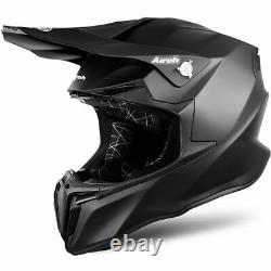 Airoh Twist 2.0 Black Matt Motocross MX Enduro Motorcycle Dirt Bike Atv Helmet