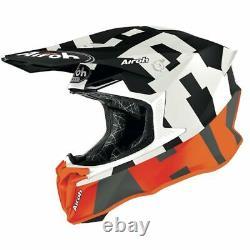 Airoh Twist 2.0 Frame Orange Matt Motocross MX Enduro Motorcycle Dirt Atv Helmet