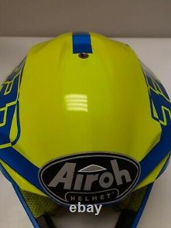 Airoh Twist 2.0 Motocross Helmet MX Dirt Bike Cairoli Adult Small Blue Yellow
