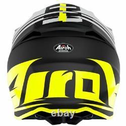 Airoh Twist 2.0 Tech Yellow Matt Motocross MX Enduro Motorcycle Dirt Atv Helmet