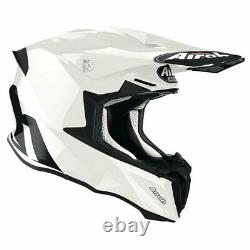 Airoh Twist 2.0 White Gloss Motocross MX Enduro Motorcycle Dirt Bike Atv Helmet
