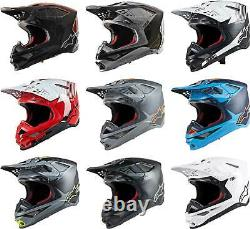 Alpinestars Supertech M10 Carbon MIPS Helmet MX Dirt Bike Off-Road MTB ATV