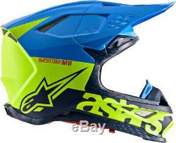 Alpinestars Supertech M8 Radium Helmet Motorcycle ATV/UTV Street Bike Dirt Bike