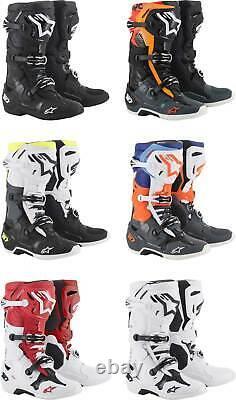 Alpinestars Tech 10 Boots MX Motocross Dirt Bike Off-Road ATV Mens Gear