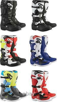 Alpinestars Tech 3 Boots MX Motocross Dirt Bike Off-Road ATV Mens Gear
