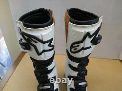 Alpinestars Tech 6 Size 11 Boots Motocross Dirt Bike MX Excellent