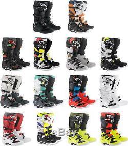 Alpinestars Tech 7 Boots MX Motocross Dirt Bike Off-Road ATV Mens Gear