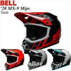 BELL 2020 MX-9 Mips Dash Helmet Off-Road/MX/ATV/Motocross/Dirt Bike 711120