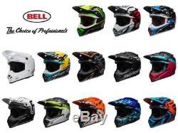BELL MOTO-9 MIPS Helmet Adult Motocross Off Road Dirt Bike ATV Helmet DOT/ECE