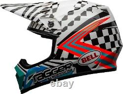 Bell Adult MX-9 MIPS Tagger Check Me Out Dirt Helmet Offroad ATV