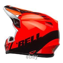 Bell MX 2021 MX-9 Mips Off road Dirt bike Motocross Quad ATV Helmet Dash Orange