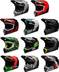 Bell MX-9 MIPS Helmet MX Motocross Dirt Bike Off-Road ATV UTV MTB Men Women