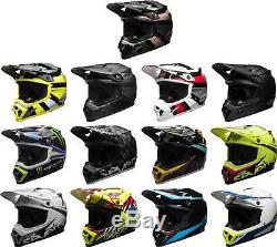 Bell MX-9 MIPS Helmet MX Motocross Off-Road Dirt Bike ATV Mens Womens Adult