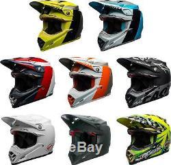 Bell Moto-9 Carbon Flex Helmet MX Motocross Dirt Bike Off-Road ATV UTV MTB