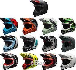 Bell Moto-9 Carbon Flex Helmet MX Motocross Off-Road Dirt Bike ATV Mens Adult