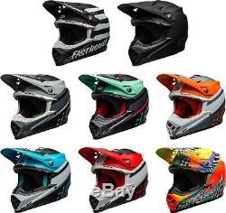 Bell Moto-9 MIPS Helmet MX Motocross Dirt Bike Off-Road ATV UTV MTB Men Women