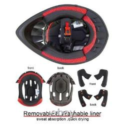 DOT Motocross Helmet Dirt Bike Off-road MX ATV Snowmobile BMX UTV Goggles MX