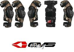 EVS Men's Axis Pro Knee Brace Motocross MX Dirt Bike Off Road Enduro ATV Quad