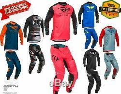 FLY Lite Gear Combo Motocross MX Off Road Dirt Bike ATV/Utv All Color/Size