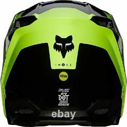 FOX 2021 V1 Tayzer Off-Road Helmet Black MX/ATV/Motocross/Dirt Bike 25153