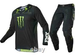 FOX MONSTER MX GEAR Combo Set Racing Off-Road Motocross Mountain Dirt Bike ATV