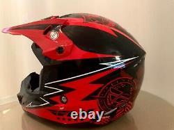 Fly Racing Determination Helmet MX Motocross Dirt Bike Off-Road ATV Size M58cm