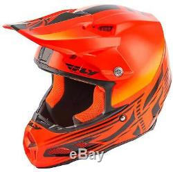 Fly Racing F2 Carbon MIPS Cold Weather Helmet MX Motocross Dirt Bike ATV Snow