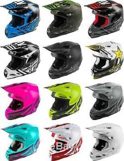 Fly Racing F2 Carbon MIPS Helmet MX Motocross Dirt Bike Off-Road ATV UTV MTB