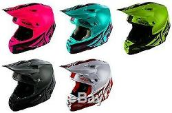 Fly Racing F2 Carbon Mips Shield Helmet Offroad Dirt Bike Motocross ATV