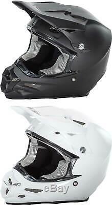 Fly Racing F2 Carbon Solid Helmet 2017 MX ATV Motocross Dirt Bike Adult