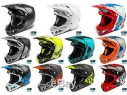 Fly Racing Formula Carbon AIS Helmet Motocross Dirt Bike Offroad MX ATV'20