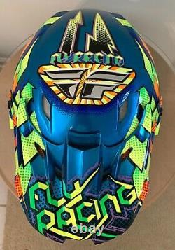 Fly Racing Helmet MX Motocross Dirt Bike Off-Road ATV Size L59-60cm