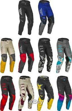 Fly Racing Kinetic Pants MX Motocross Dirt Bike Off-Road ATV MTB Mens Gear